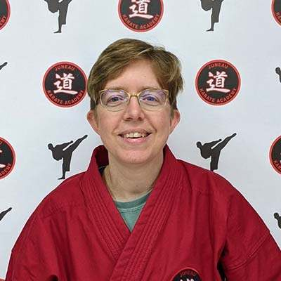Ms Margie McWilliams , Juneau Karate Academy Juneau AK